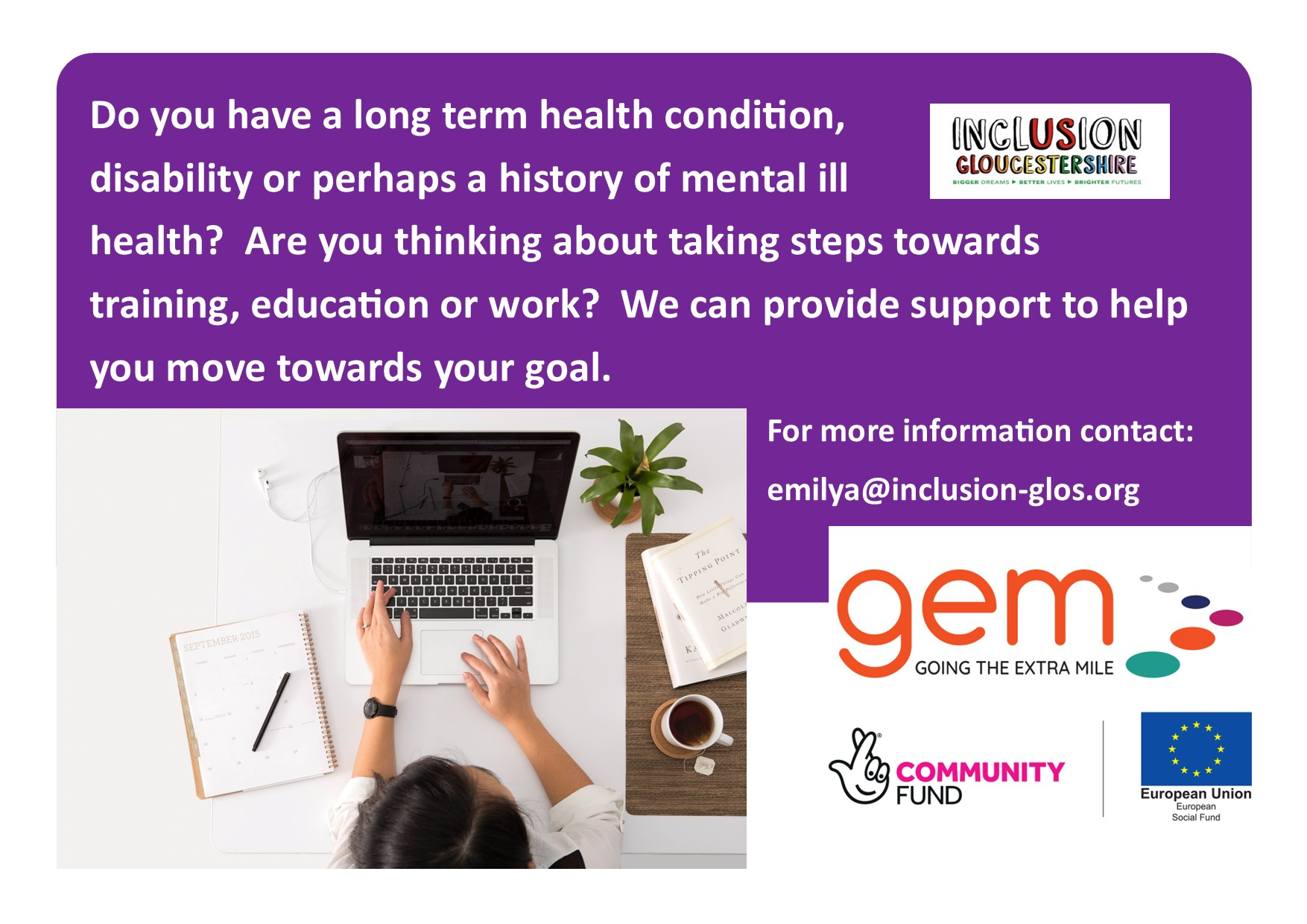 GEM Project publicity flyer