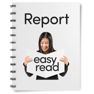 Click to download our Easy Read Report