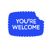 The You're Welcome website logo